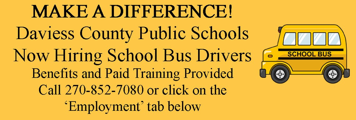 DCPS Now Hiring School Bus Drivers