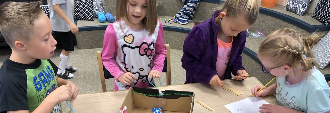2nd Grade Makerspaces - Sharpen the Saw