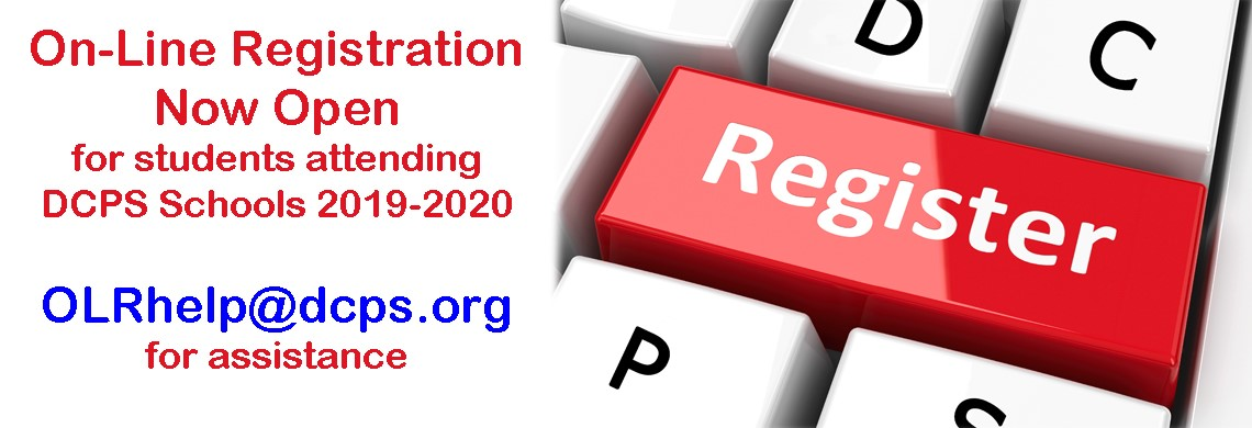 On-Line Registration Now Open