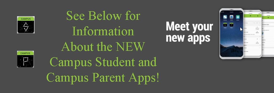 Campus Student / Campus Parent Apps Now Available
