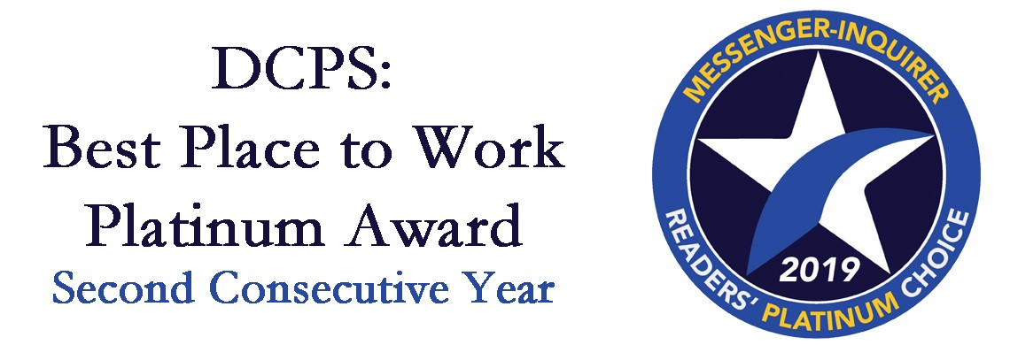 DCPS - Best Place to Work platinum award winner!