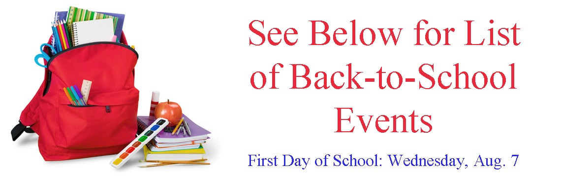 DCPS Back-to-School Events