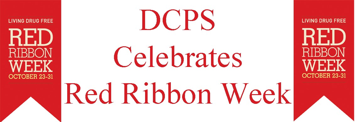 Red Ribbon Week - Oct. 23-31