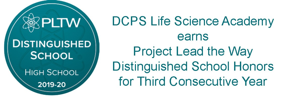 DCPS LSA earns PLTW Honors