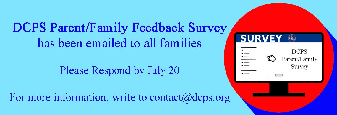 DCPS Survey - Respond by July 20