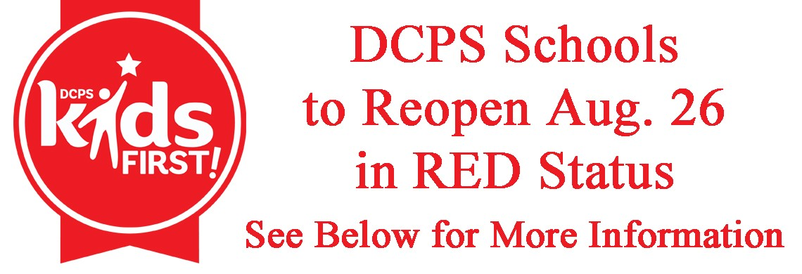 DCPS Schools to Reopen Aug. 26 - NTI-Digital Status