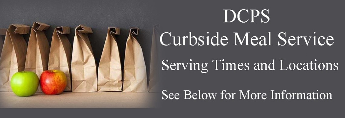 DCPS Curbside and A-B Schedule Meal Service