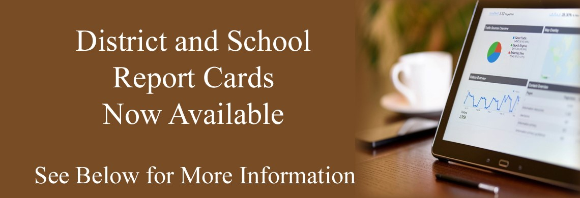 District and School Report Cards available on KDE Website