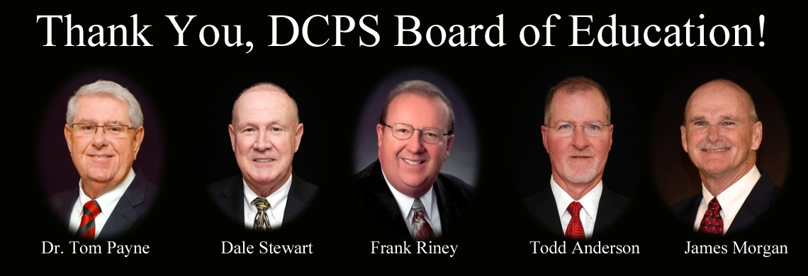 Thank you, DCPS Board of Education!
