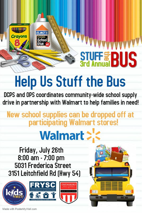 Stuff the Bus 2019 Flyer