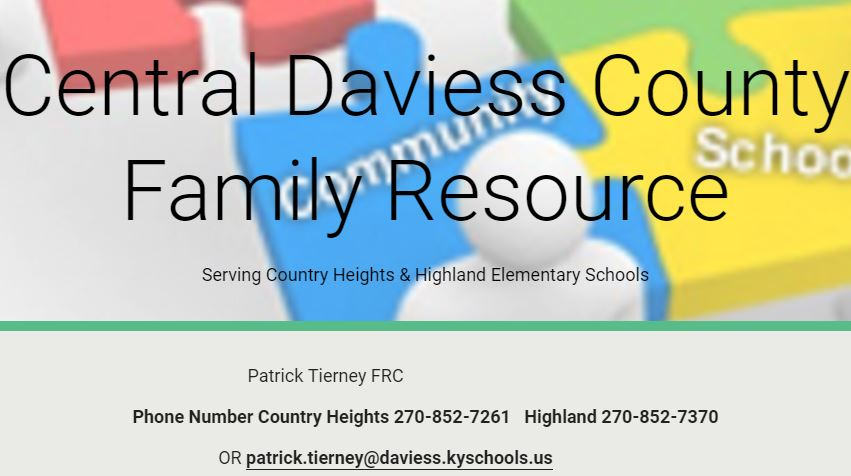 CHES Family Resource