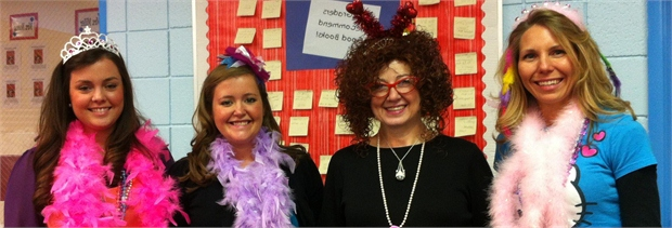 Fancy Nancy and K teachers