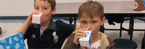 "<span style=""font-family: Arial"">World School Milk Day!&nbsp; Got milk?</span>"