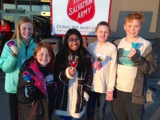 Bell Ringers for Salvation Army