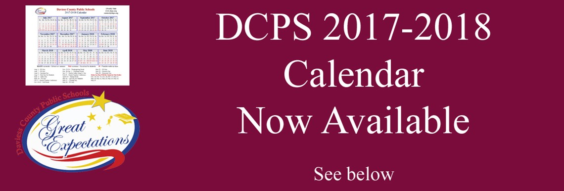 DCPS 2017-2018 Calendar Now Available