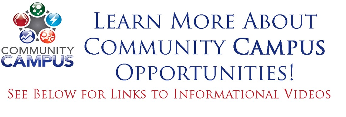 Community Campus opportunities now available