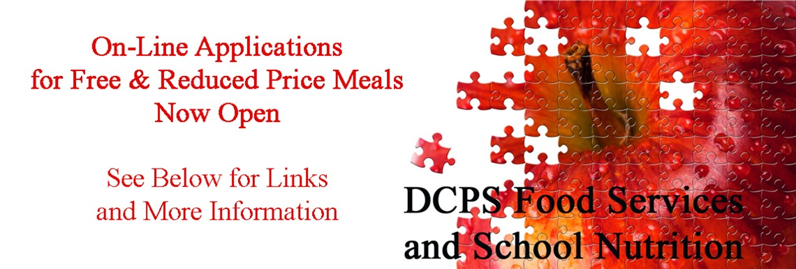 On-line free & reduced price meal applications