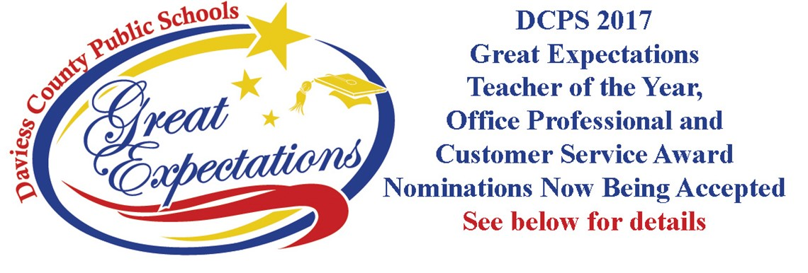 2017 Great Expectations Award Nominations Now Being Accepted