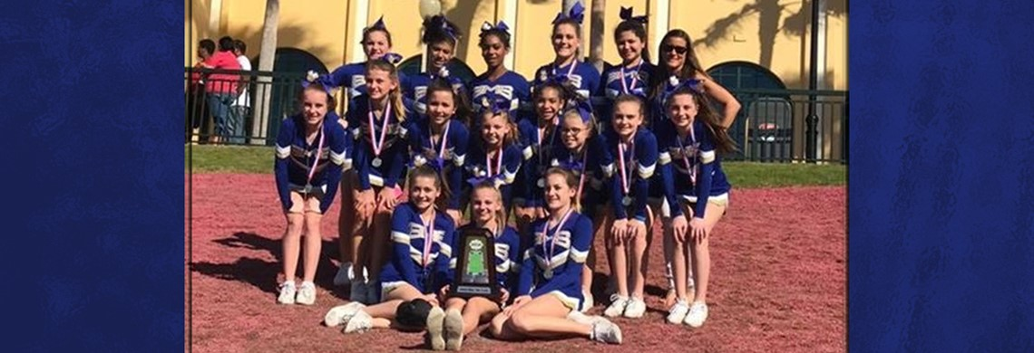 BMS Cheer 2nd Place National Game Day Division Cheer Squad at Walt Disney World