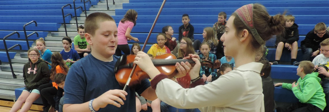 BMS Orchestra Visit
