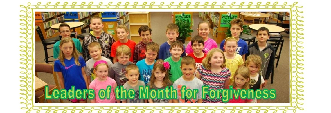 HES Leaders of the Month for Forgiveness