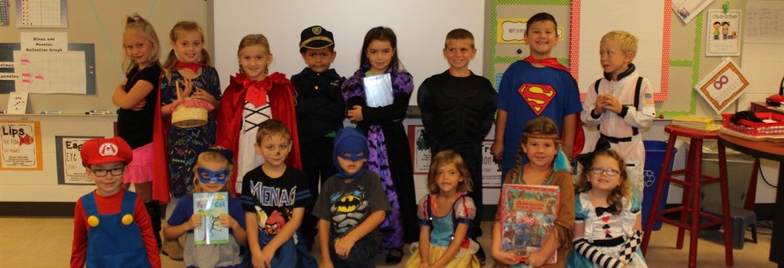 Literacy book Characters
