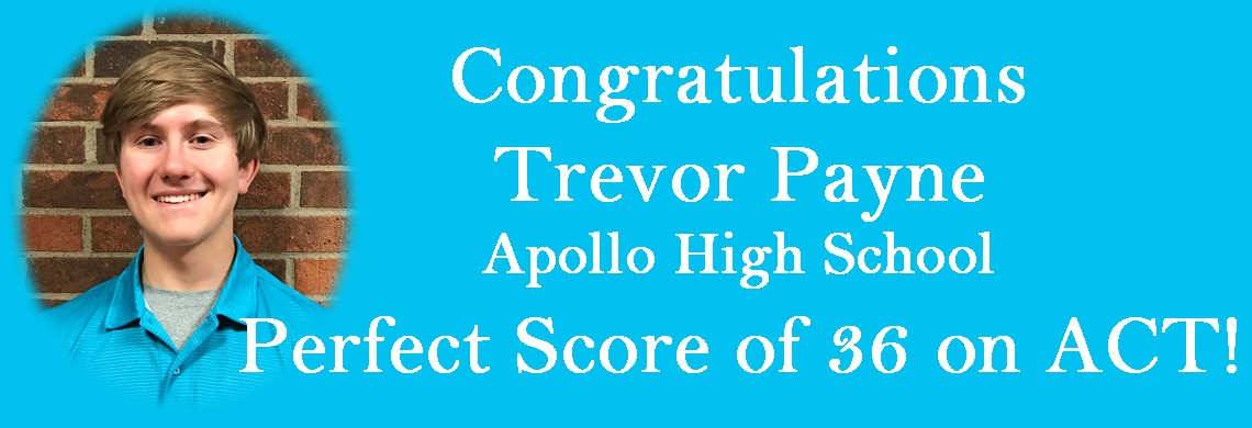 Trevor Payne - Perfect Score on ACT