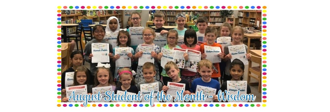 HES August Student of the Month 2018
