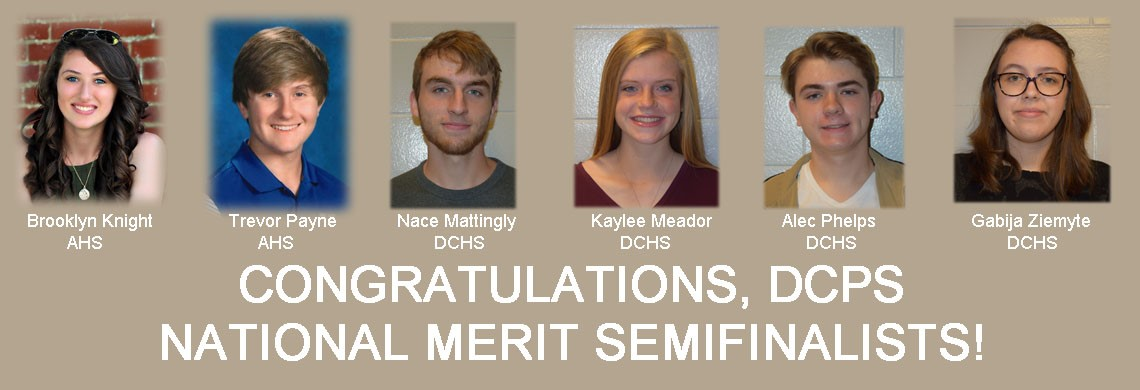 Six DCPS students earn National Merit Semifinalist honors