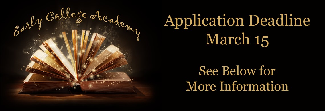 Early College Academy Now Accepting Applications