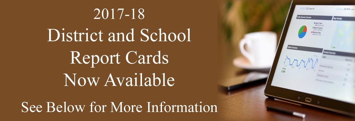 District and School Report Cards Now Available