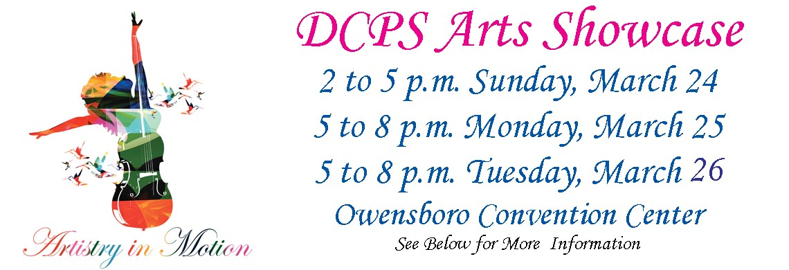 DCPS Arts Showcase - March 24-26