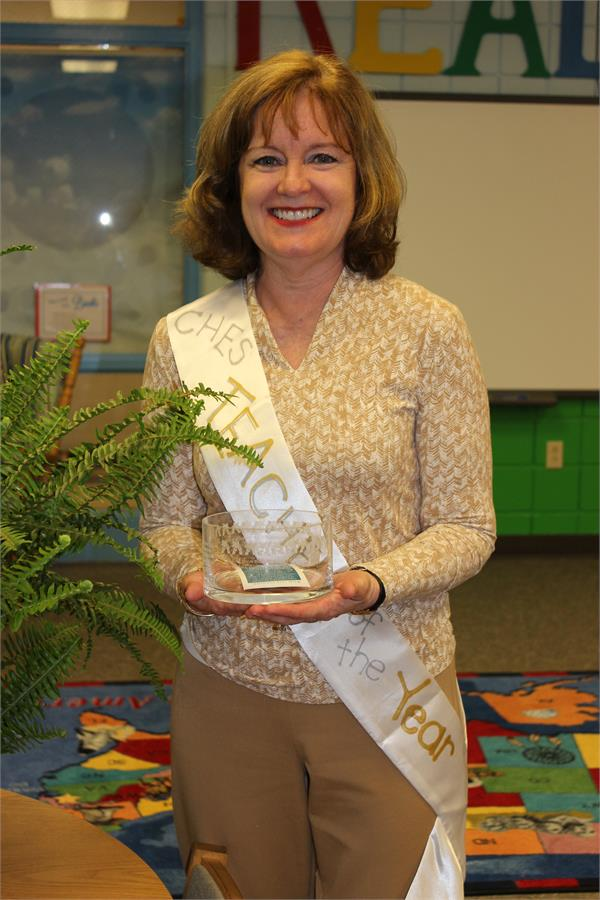Teacher of the Year - Mrs. Maglinger