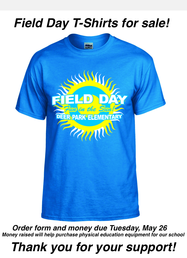 Field Day T Shirts Deer Park Elementary