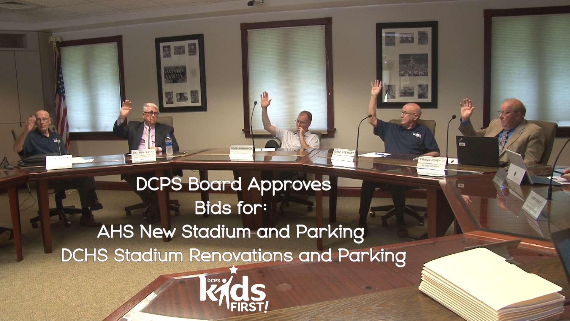 DCPS Board Approves Construction Project
