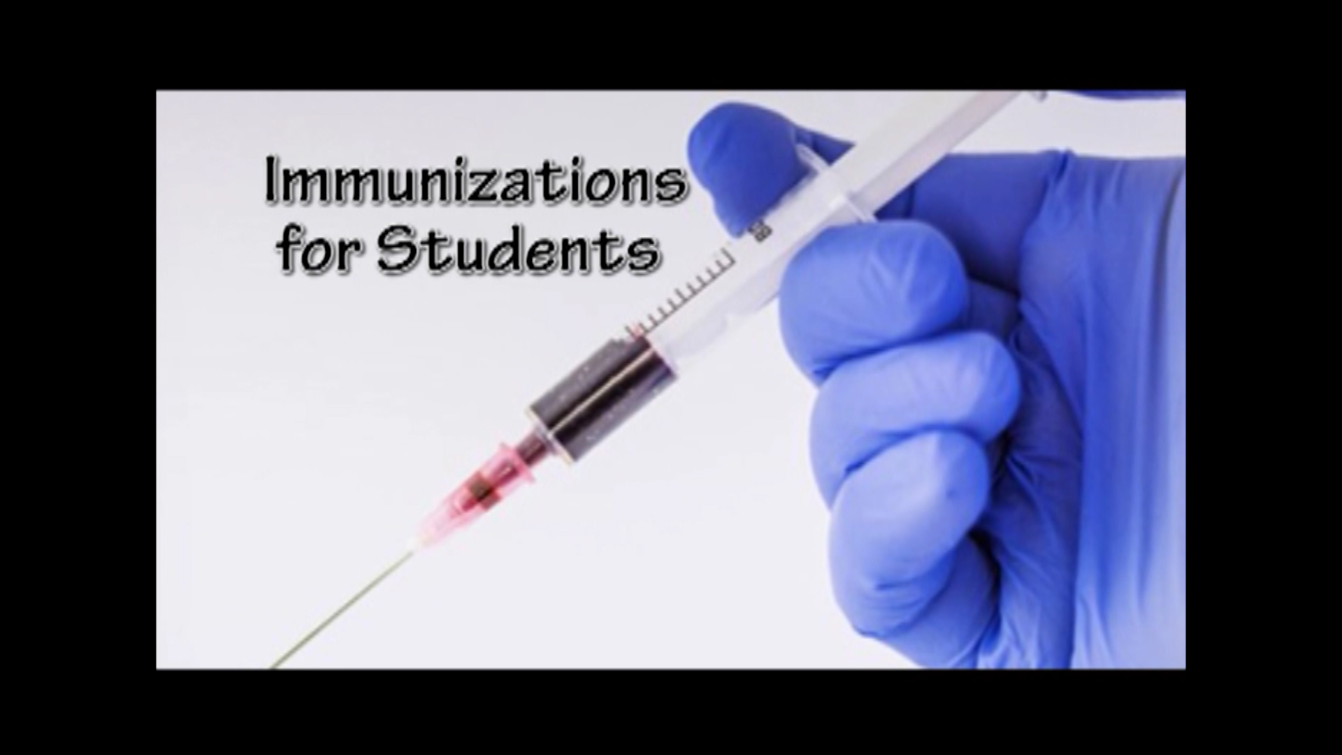 Immunizations for Students January 2, 2018